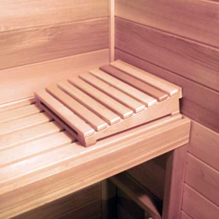 Cedar Sauna Head Rest