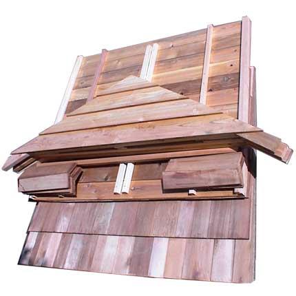Sauna Roof Kit - 4'x5' Sauna