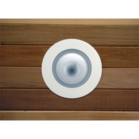 "Sauna/Steam Wet-rated 4"" Recessed Ceiling Light"