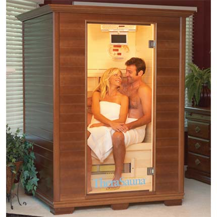 thera sauna 2 person infrared therapy room ts4544. Black Bedroom Furniture Sets. Home Design Ideas