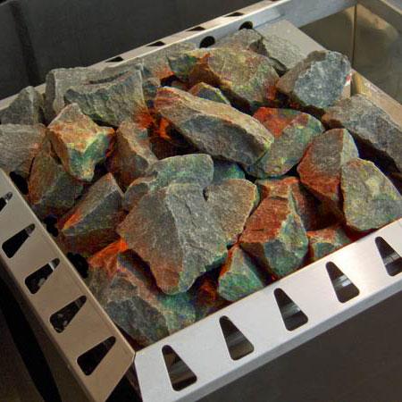 Sauna Rocks, Vulcanite, 66# Box