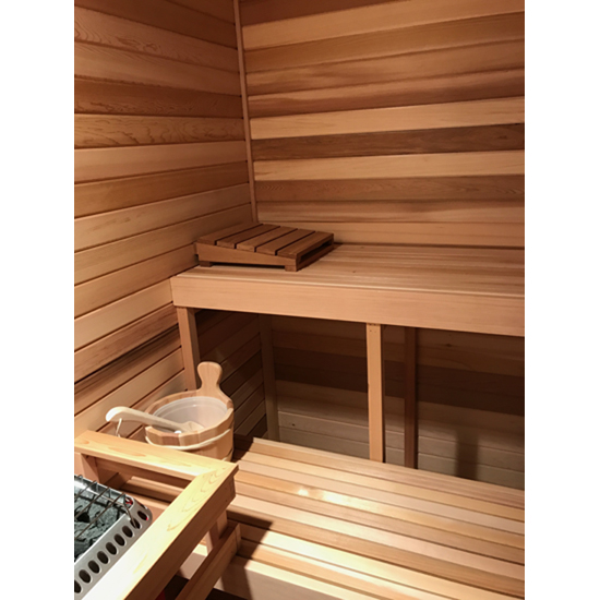 "4' Commercial 2""x2"" Sauna Bench"