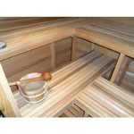 5'x7' Home Sauna Kit | DIY Pre-Cut + Heater Package