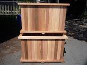 Bamboo Cedar Planter Box