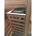 Cilindro Sauna Heater Guard Rail