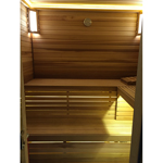 6'x6' Home Sauna Kit | DIY Precut + Heater Package