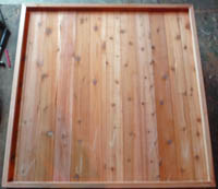 "Modular Sauna Tray or Base 36""x48"""