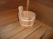 Mini Ofuro-Style Cedar Sauna Bucket