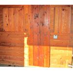 "15""x24"" Sauna Window Shudders"