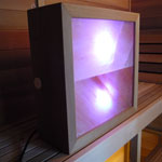 Sauna Salt Light Box