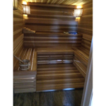 7'x7' Sauna Kit | DIY Precut + Heater Package