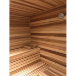 "7' Commercial 2""x2"" Sauna Bench"