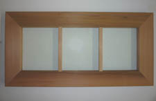 "17""x38¾"" Cedar Windows"