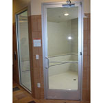 Blowout 190 Commercial Steamroom Door White