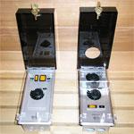 Locking Sauna Heater Control Covers
