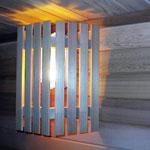Sauna Wooden Lampshade