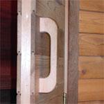 Cedar Sauna Door Handle