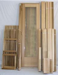 10'x10' Sauna Kit | DIY Precut + Heater Package