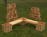 Cedar planter Box P 33-12