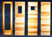 Residential Sauna Doors
