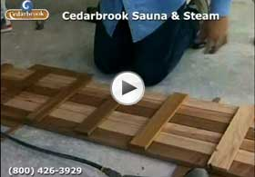 Assemble The Duckboard For The Sauna Walkway