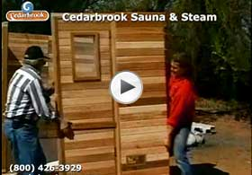 Sauna wall panels form a sturdy room and the top plate boards add extra strength
