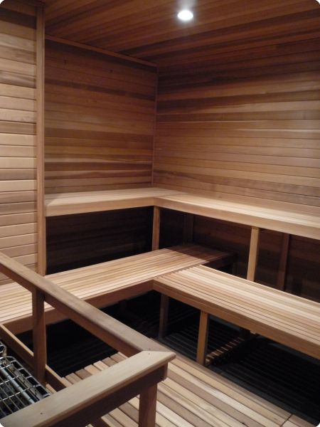 Perfect 4 Sauna Benches