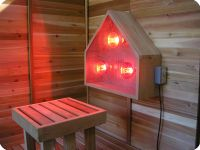 infrared sauna light