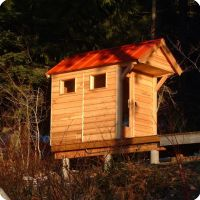 DIY: Pre Built And Ready To Assemble. Outdoor Home Sauna ...
