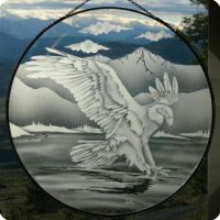 Eagle sun catchers