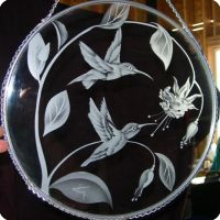 Humming bird suncatcher