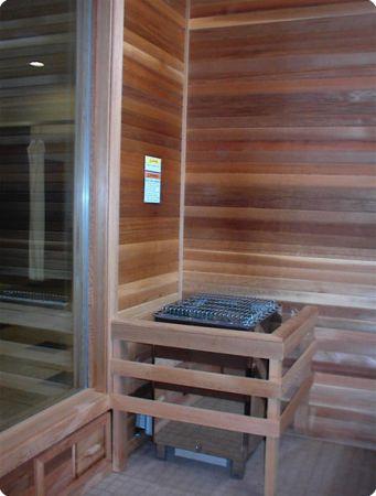 Sauna Heaters Installed
