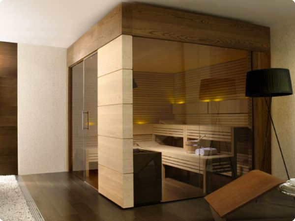 sauna with glass walls - Sauna Design Ideas