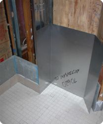 Steamroom Construction