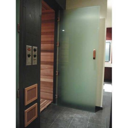 View From Interior Of Sauna