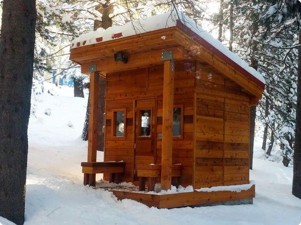 Sierra Mountains Sauna