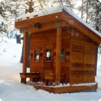 High Sierra Mountains Sauna