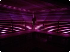 Private Sauna + Chromotherapy