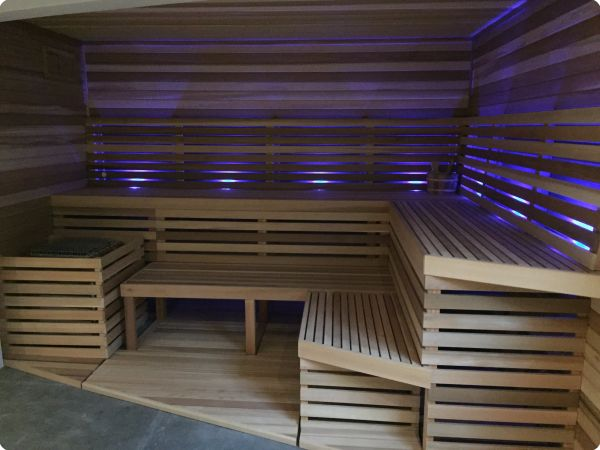 Private Sauna Chromotherapy