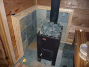 Nippa Wood Burning Sauna Heaters